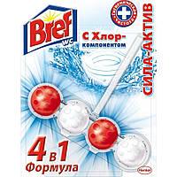 Туалетный блок Bref Сила Актив с хлор-компонентом 50 г
