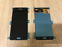 Дисплей Samsung A510 Чёрный Black  GH97-18250B оригинал!