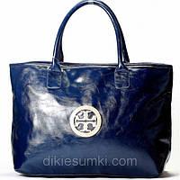 Женская сумка Tory Burch  синяя