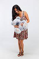 Большой плюшевый мишка, медведь Тедди 50см серый