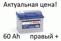 Аккумулятор Bosch S4 60 Ah 0092S40040 Пусковой ток 540 A, Правый +, Размеры на картинке