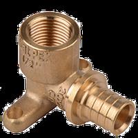 Угол монтажный 20 -1/2ВР установочный аналог Рехау (Rehau) Heat-Pex (Хитпекс)
