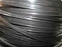 Кедер (кедрик) кант шовный полиэтиленовый чёрный