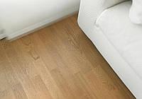 Паркетная доска Focus Floor Дуб Lodos 3-полосный, легкий браш, светло-коричневый лак
