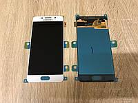 Дисплей на Samsung A310 Galaxy A3(2016) Белый(White),GH97-18249A, Super AMOLED!