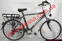 Электровелосипед Азимут MEN 26 дюймов белый черный Акция!