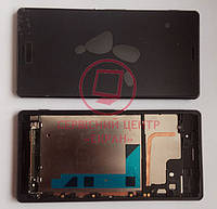 Дисплей модуль Sony Xperia Z3 D6603, D6643 в зборі з тачскріном, чорний, з рамкою
