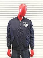 Молодёжная весення куртка бомбер с вышивкой