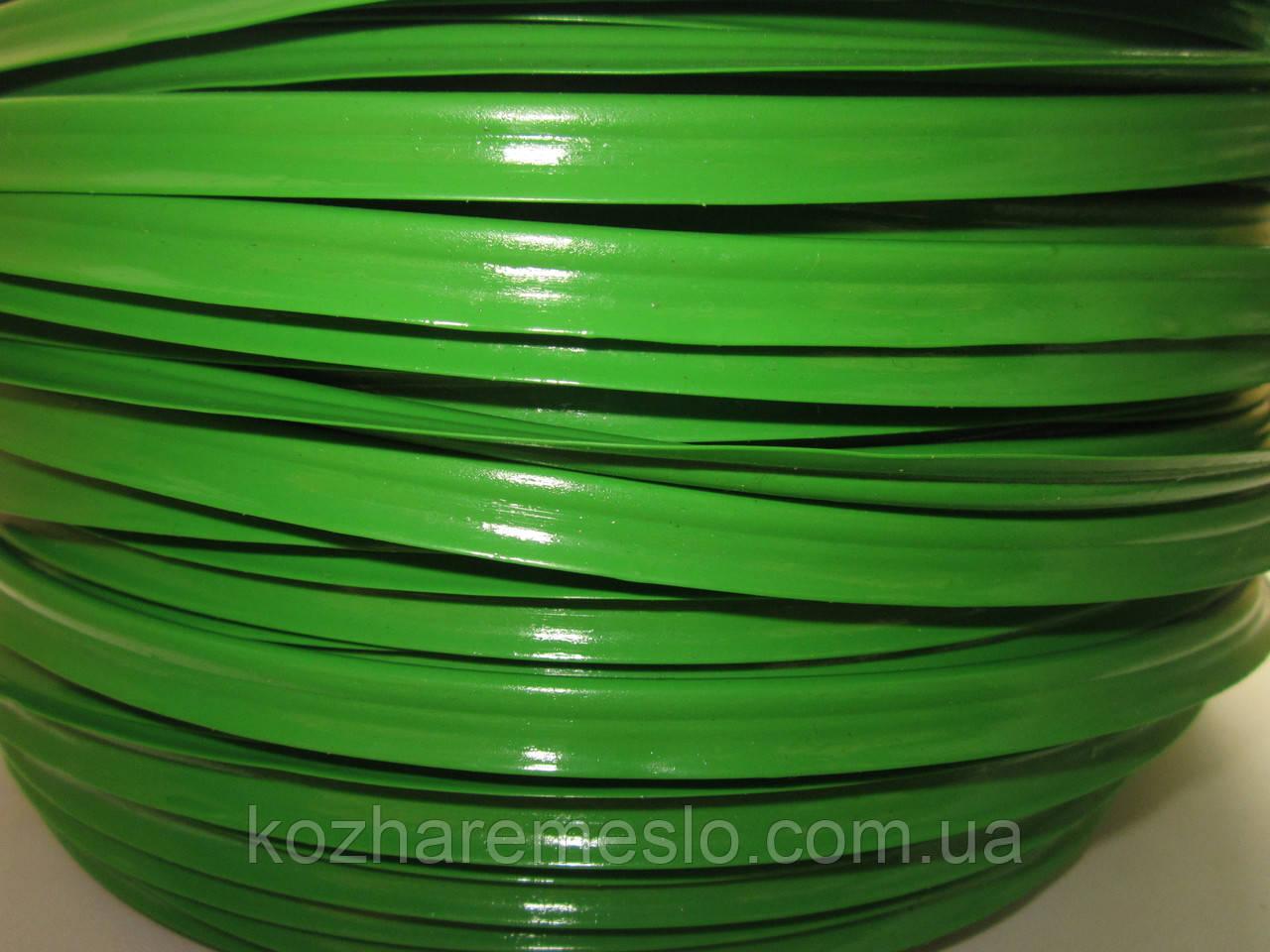 Кедер (кедрик) кант шовный полиэтиленовый зелёный