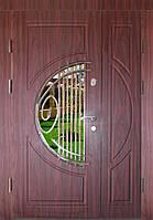 Входная дверь двух створчатая модель П3-34 vinorit-37 КОВКА, фото 1