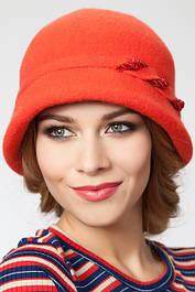 Женские фетровые шапки, шляпки.