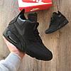 "Зимние кроссовки Nike Air Max 90 Sneakerboot ""All Black"""