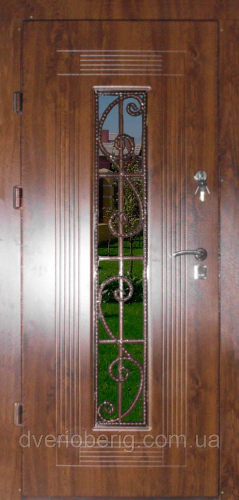 Входная дверь модель Т-1-3 347 vinorit-02 КОВКА