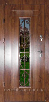 Входная дверь модель Т-1-3 347 vinorit-02 КОВКА , фото 2
