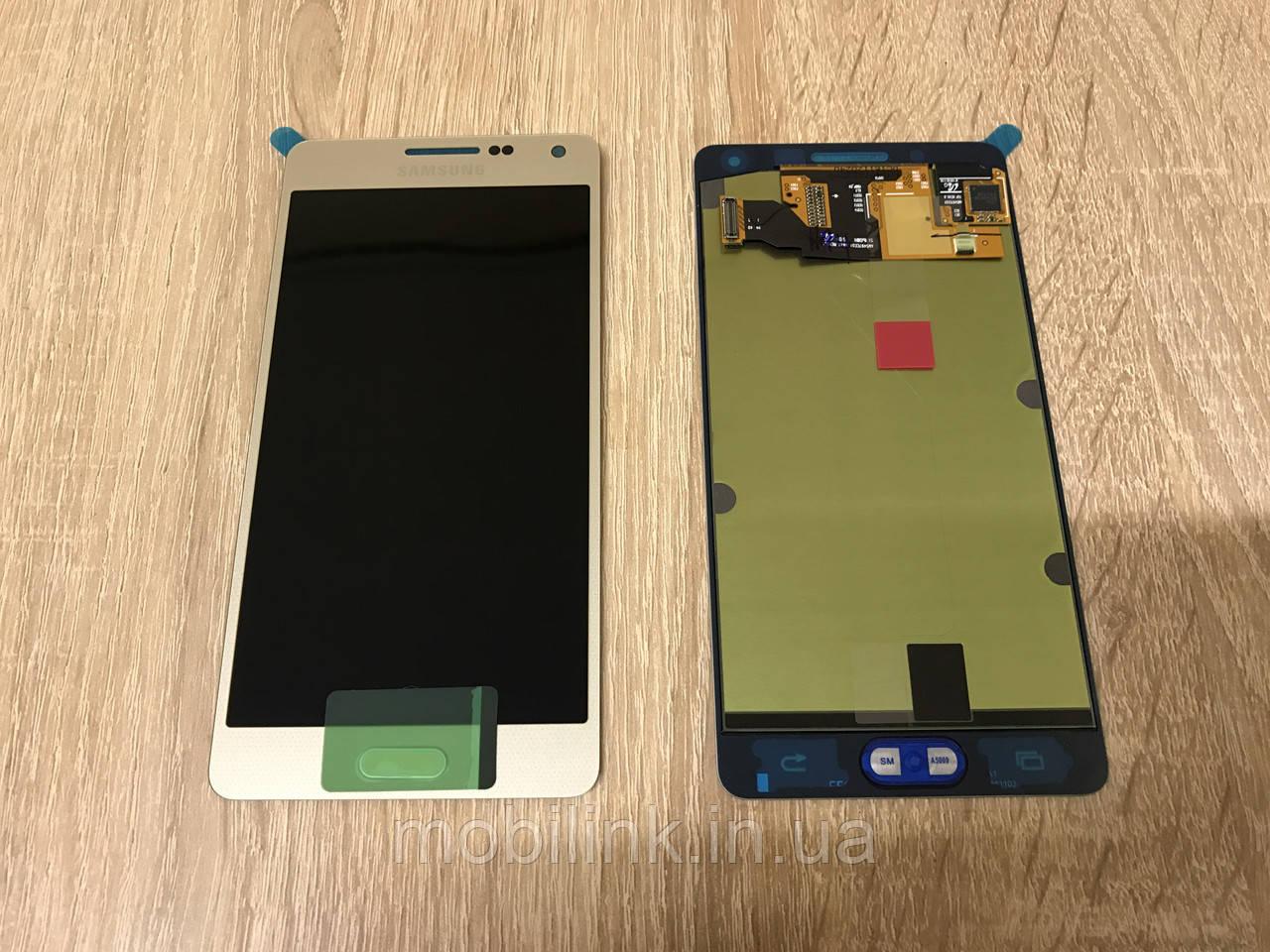 Дисплей на Samsung A500 Galaxy A5 Золото(Gold),GH97-16679F, Super AMOLED!