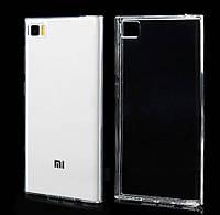 Силиконовый чехол для Xiaomi MI3 Goospery прозрачный