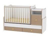 Детская кровать-трансформер Ласка белый