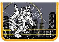 Пенал без наполнения «Робот»  1 отд. и 2 отвор. + расписание JO-15223 R01