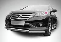 Кенгурятник двойной ус для Honda CRV 2012