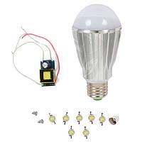 Светодиодная (LED) лампа SQ-Q17 7 Вт, теплый белый, E27 (комплект)
