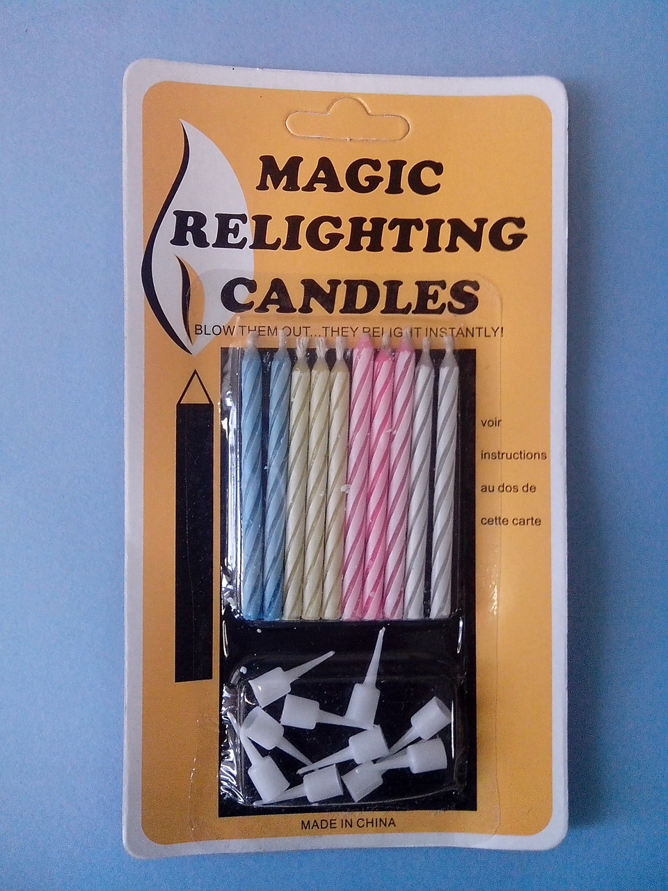 Свеча магическая незадуваемая (код 02581)