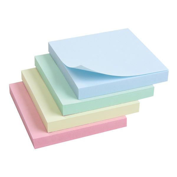 """Блок бумаги """"Axent"""" 75*75мм, 100листов, с клейким слоем 2314-02 зеленый"""