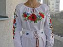 Панночка- платье вышитое с корсетным поясом , фото 2