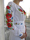 Панночка- платье вышитое с корсетным поясом , фото 3