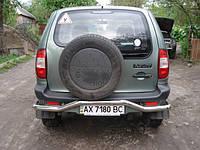 Кенгурятник заднего бампера для Niva Chevrolet 2006