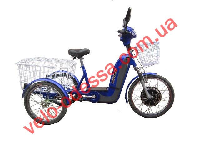 Трехколесный електровелосипед Мустанг