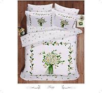 Комплект постельного белья Le Vele Posy Spring series сатин 220-200 см, фото 1