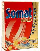 Таблетки для посудомоечных машин Somat Голд 44 шт.