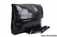Элегантная женская сумочка Bonilarti Oalengi цвет черный, эко-кожа
