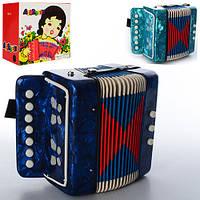 Детский музыкальный инструмент Гармошка M01374