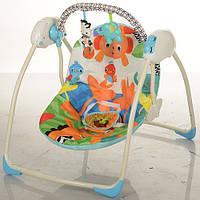Кресло-качели музыкальные M 3241 Bambi