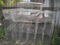 Клетка для перевозки птицы 80х40х25 (ячейка 25х50)