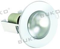 Светильник точечный BUKO WT610 R-50 E14 белый