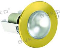 Светильник точечный BUKO WT614 R-63 E27 золото, хром