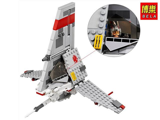 Детский конструктор Звездные войны Space Fights Космический истребитель Bela 10372 (аналог LEGO), 246 деталей