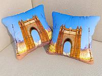 Подушки с фото Триумфальная арка