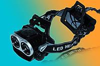 Налобный и велосипедный фонарь Police BL-04-2T6