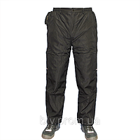 Теплые мужские штаны плащевка на флисе т.м. Boulevard AHR76