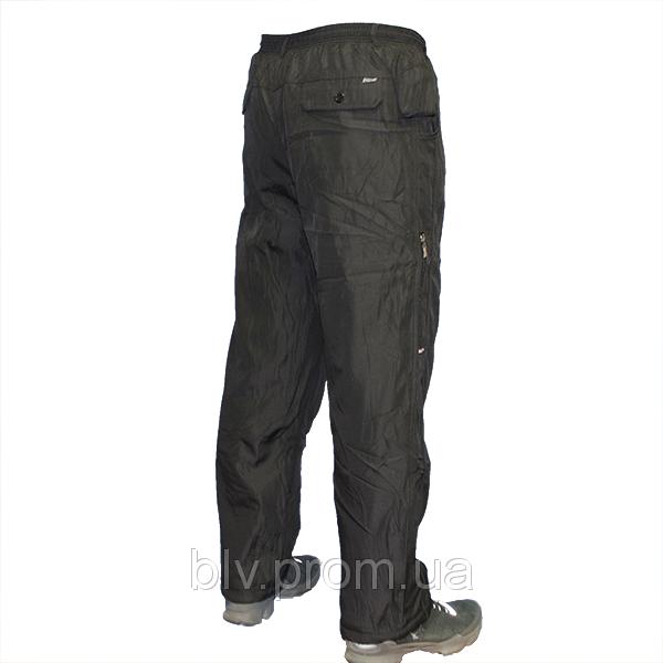 Теплые брюки на зиму классические мужские на флисе AHR76