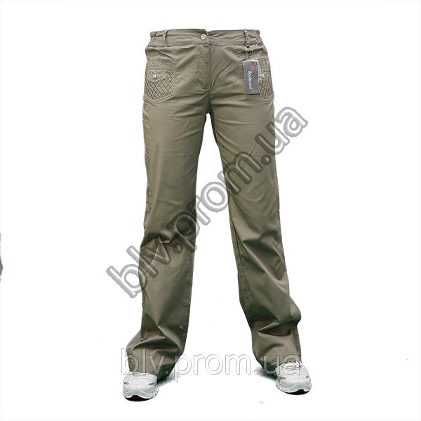 Женские брюки стрейч-коттон по низким ценам ATP1008
