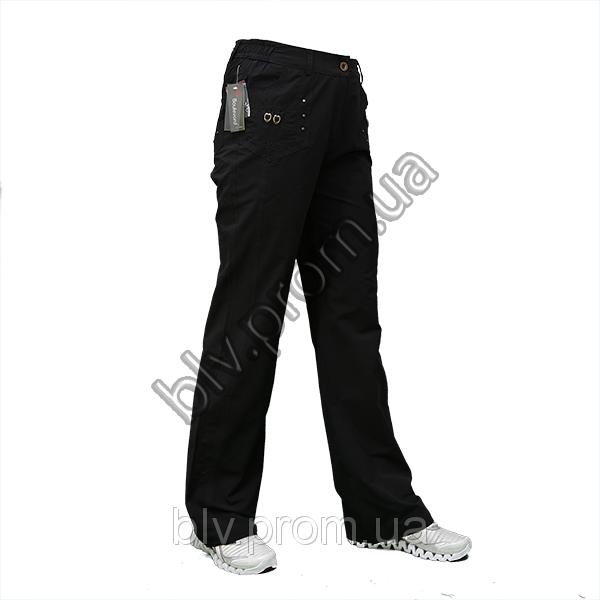 Женские летние брюки из хб ткани   A029