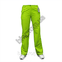 Женские летние брюки из тонкой хб ткани  A980, фото 1