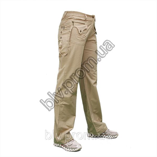 Женские брюки из тонкого хлопка уценка  A948