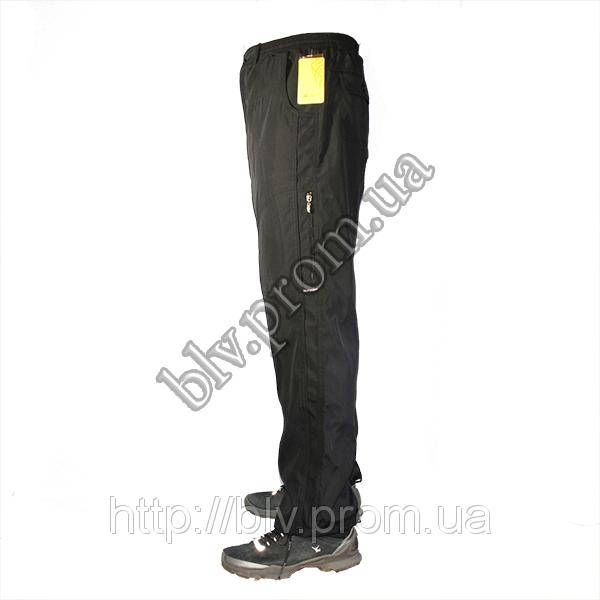 Мужские спортивные брюки плащевка на подкладке AH76