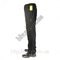Мужские спортивные брюки плащевка на подкладке AH76, фото 1