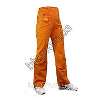 Женские брюки из тонкой жатой плащевки распродажа  A61